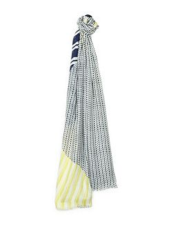 Broken Stripe Scarf