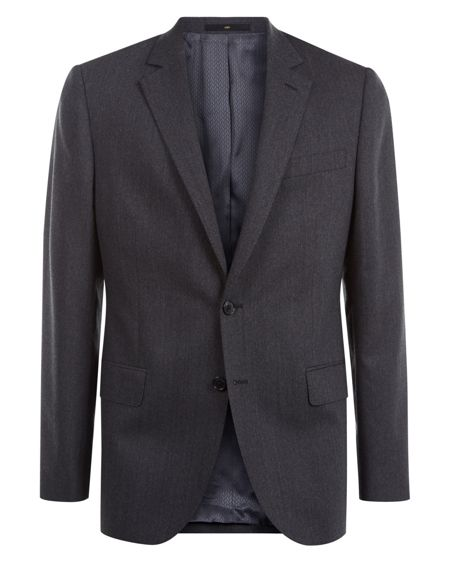 Jaeger Chalk Pinstripe Regular Jacket