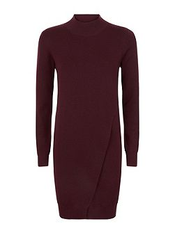 Wool Layered Knitte Dress