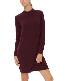 Jaeger Wool Layered Knitted Dress