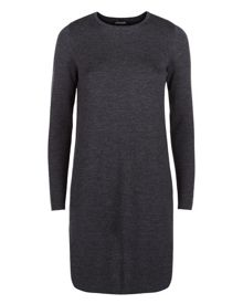 Jaeger Wool Milano Knit A Line Dress