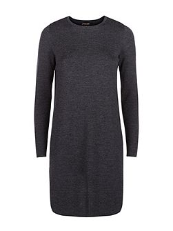 Wool Milano Knit A Line Dress