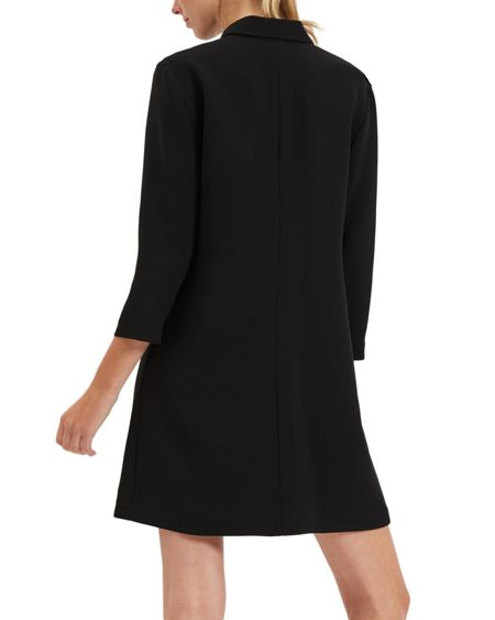 Jaeger Crepe Pocket Detail Dress
