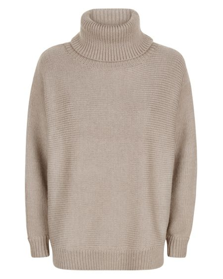 Jaeger Merino Roll Neck Sweater
