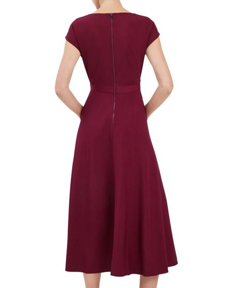 Jaeger Fit-and-Flare Dress