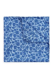 Jaeger Silk Floral Pocket Square