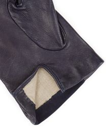Jaeger Leather Suede Detail Gloves