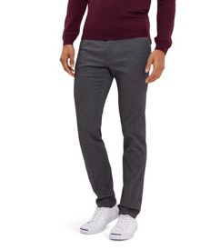 Jaeger Cotton Birdseye Slim Trousers