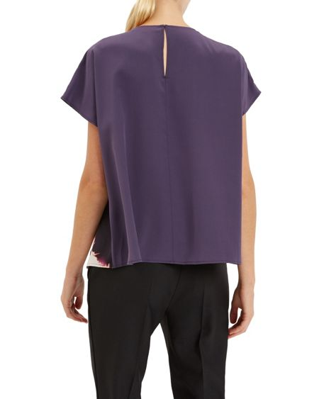 Jaeger Silk Winter Watercolour Top