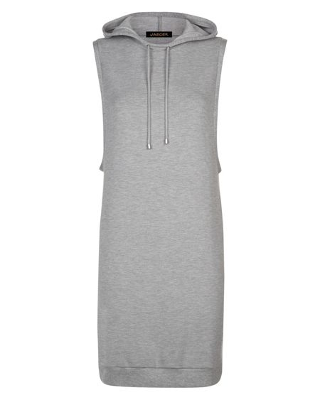 Jaeger Hooded Sweatshirt Dress