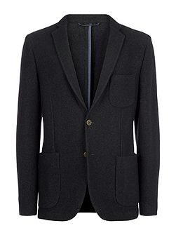 Boiled Wool Jersey Jacket