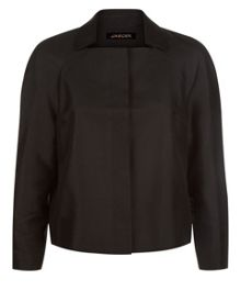 Jaeger Cotton Silk Cropped Jacket