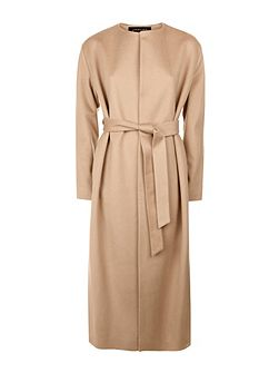 Wool Cashmere Belted Coat