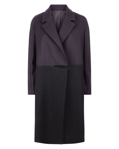 Jaeger Boiled Wool Mix Coat