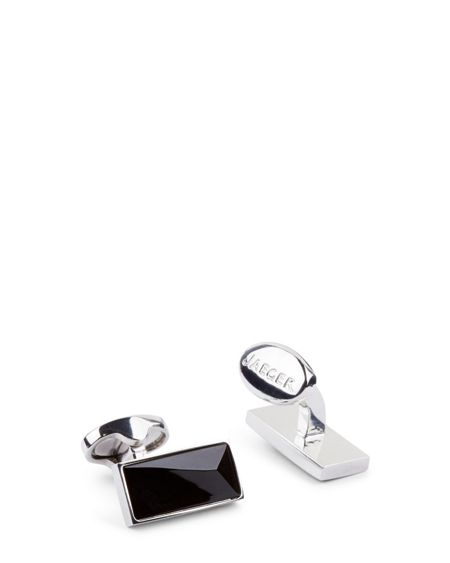 Jaeger Faceted Stone Cufflinks