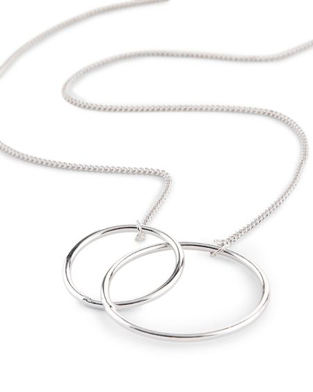 Jaeger Double Circle Necklace