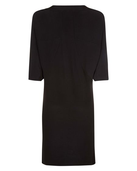 Jaeger Seam Detail Dress