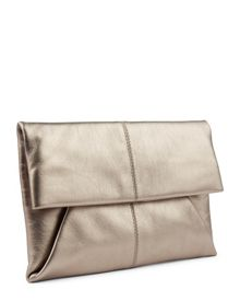 Jaeger Leather Envelope Clutch
