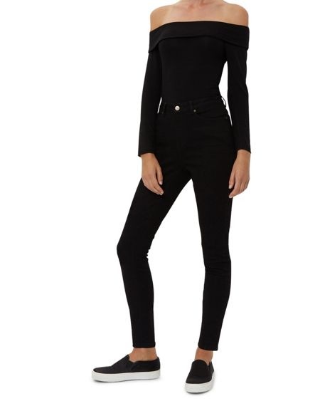 Jaeger High-Rise Skinny Jeans
