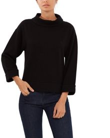 Jaeger Wool Funnel Neck Sweater