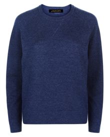 Jaeger Wool Crew Neck Sweater