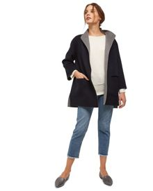 Jaeger Wool Reversible Coat