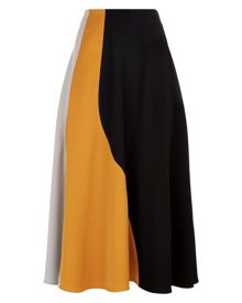 Jaeger Colour Block Panel Skirt