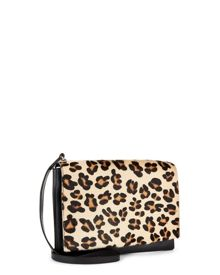 Jaeger Leopard Parker Cross Body Bag