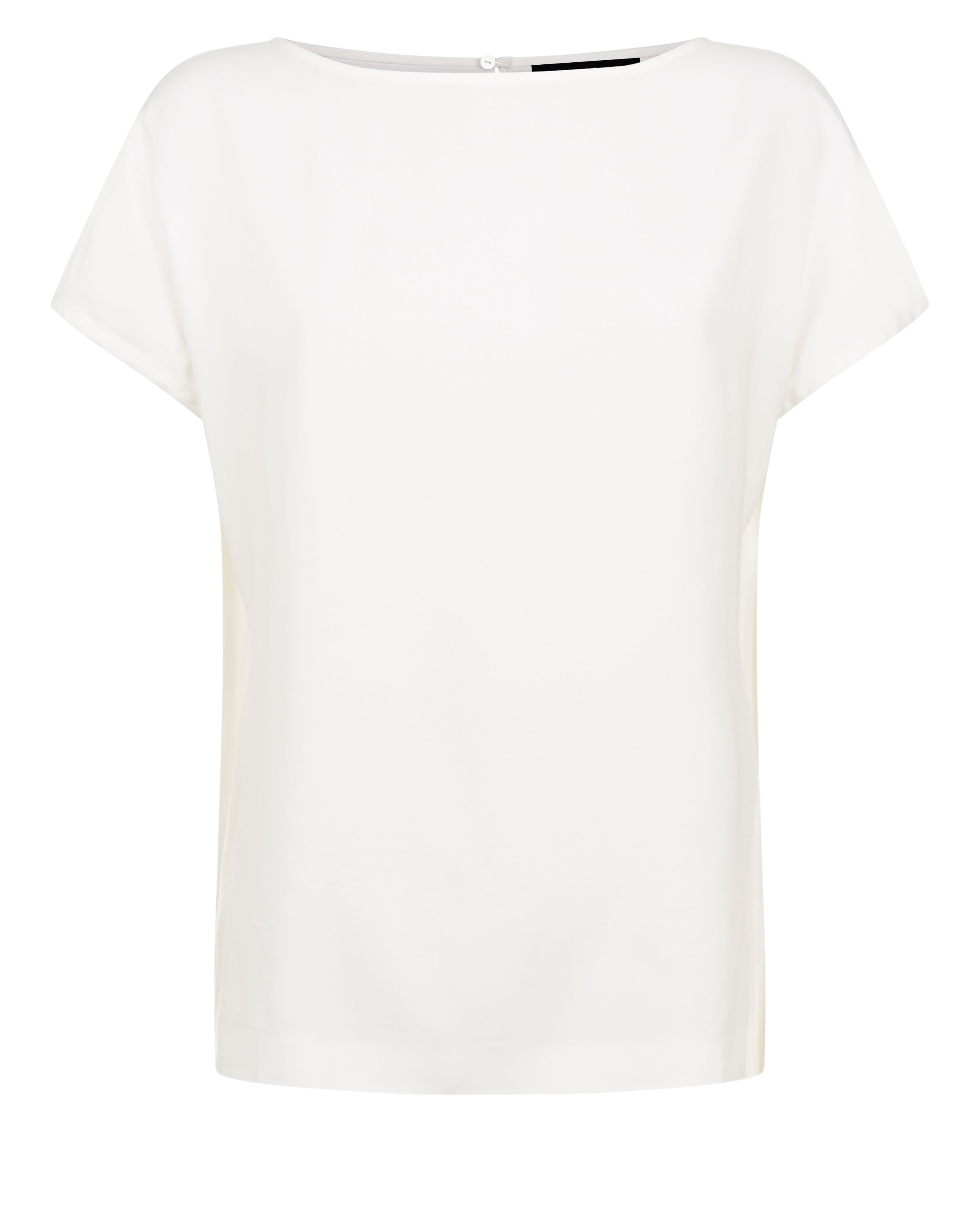Jaeger Tipping Detail Top, White
