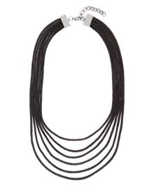 Jaeger Multi-Row Mesh Necklace