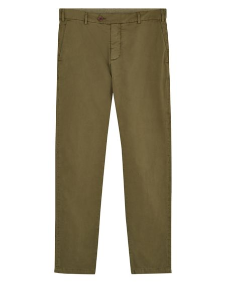 Jaeger Garment-Dyed Twill Chinos