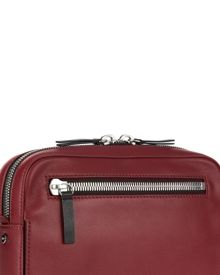 Jaeger Leather Zip-Top Camera Bag