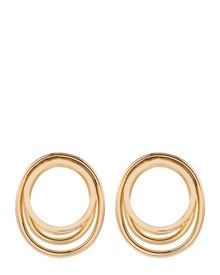 Jaeger Double Loop Earrings