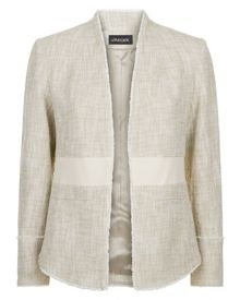 Jaeger Cotton Tweed Tailored Jacket