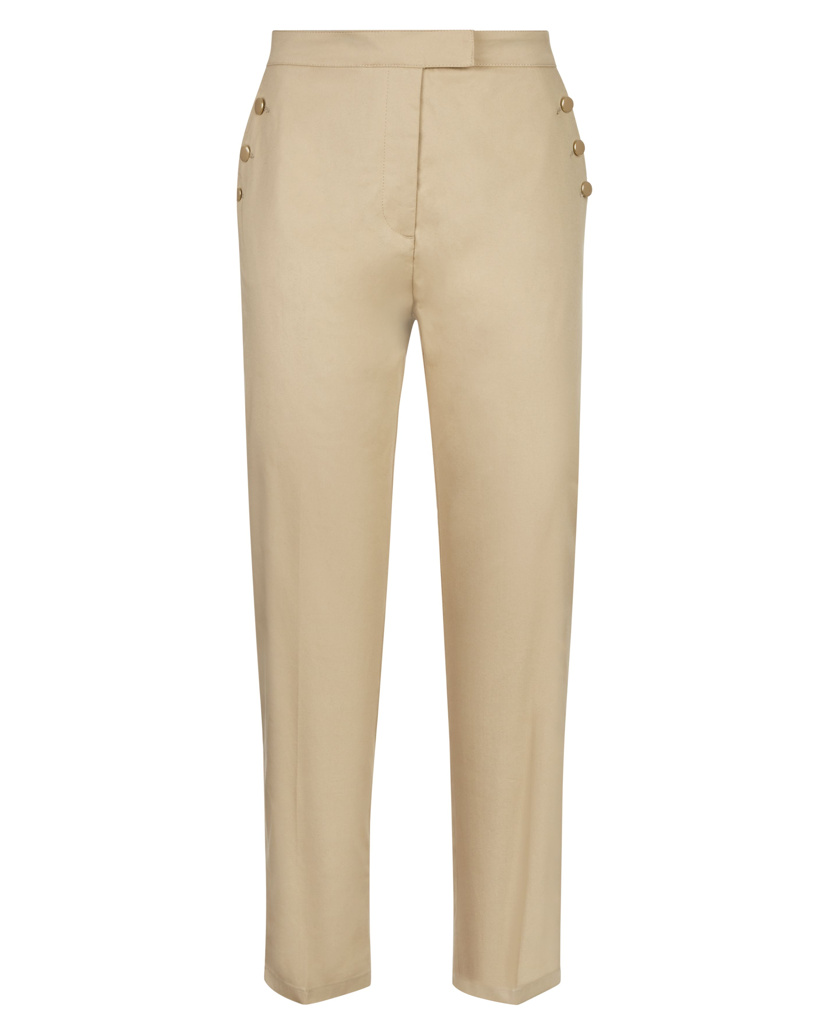 Jaeger Enamel Button Chinos, Stone