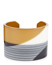 Jaeger Resin Graphic Print Cuff
