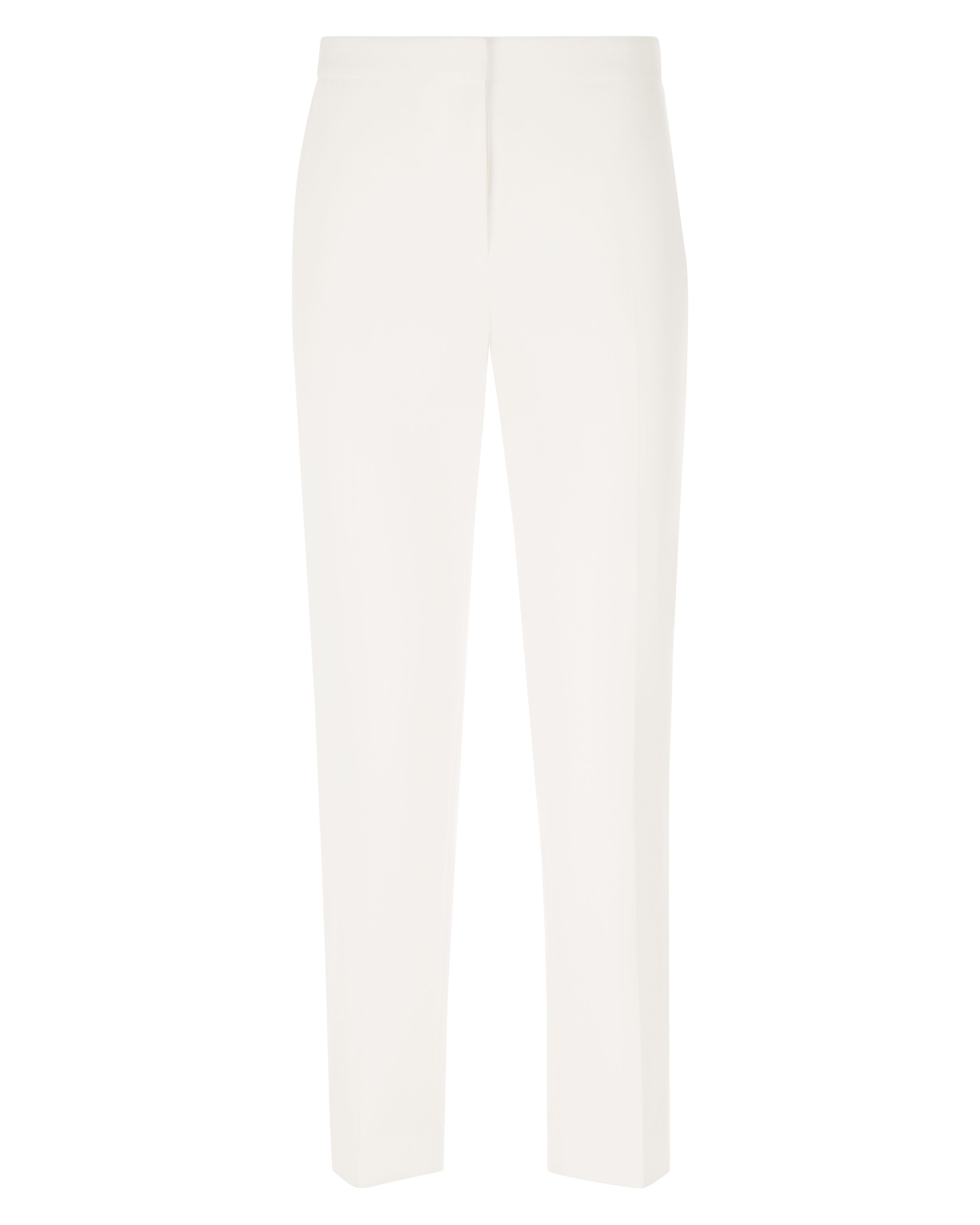 Jaeger CROPPED STRETCH TROUSER, White