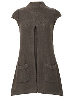 Knitted Pullover With Pocket Detail