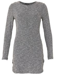 Izabel London Ribbed Jumper Dress