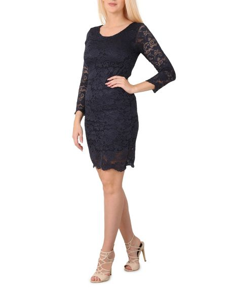 Izabel London Lace Shift Dress