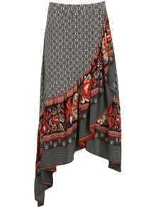 Izabel London Wrap Maxi Skirt