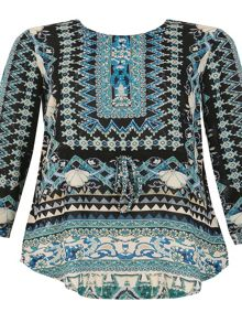 Izabel London Embellished Tunic Dress