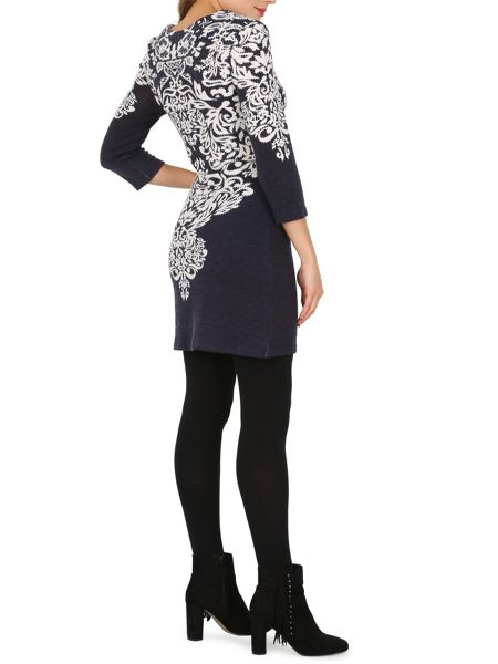 Izabel London Regal Print Dress