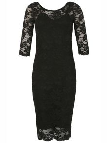 Izabel London Laced Pencil Dress