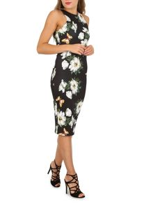 Izabel London Floral Bodycon Dress