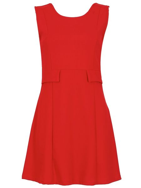 Izabel London 60s-Inspired Shift Dress
