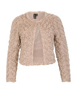 Textured Shrug Jacket