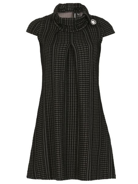 Izabel London Button Collar Tunic Dress
