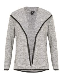 Izabel London Contrast Trim Cardigan