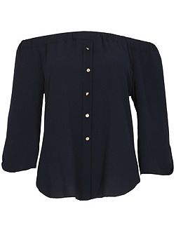 Buttoned Gypsy Top